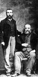 CorteX_Bakounine et Charles Perron à Bâle au congrès de l'Association internationale des travailleurs en 1869