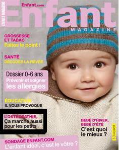 Enfant magazine janvier 2011