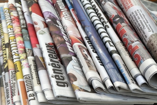Journalisme - atelier titres de presse