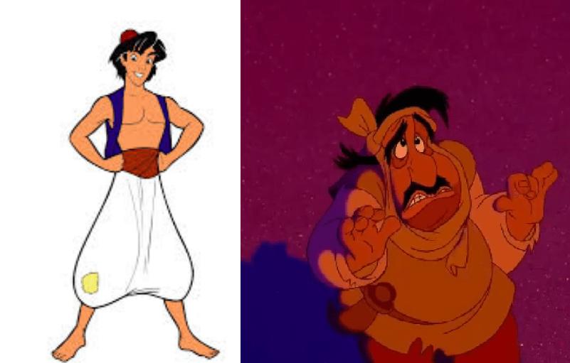 Aladdin Disney Personnages atelier cinéma et stéréotypes : aladdin, de disney et ses archétypes