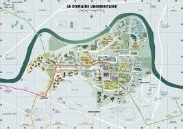 plan Amphi Weil sur une carte du campus