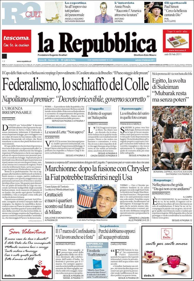 La Repubblica It Nel 2019