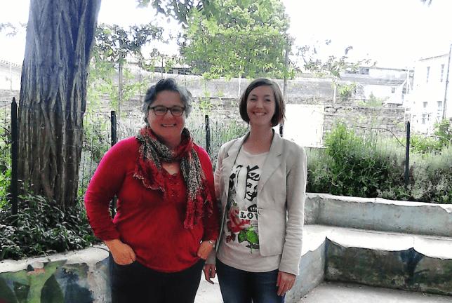 Marion Margerit et Marie – Hélène Hilaire – Enseignante de mathématiques et documentaliste (Carcassonne, France)