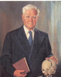 William Garner Sutherland (1873-1954), fondateur de l'ostéopathie crânienne (Source : Wikipedia, image libre de droit)
