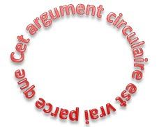 L'effet cerceau, tautologie ou raisonnement circulaire