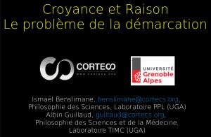 Vidéo - Conférence «Croyance et raison : le problème de la démarcation»