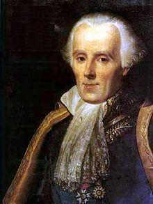 Pierre-Simon de Laplace, à peine souriant